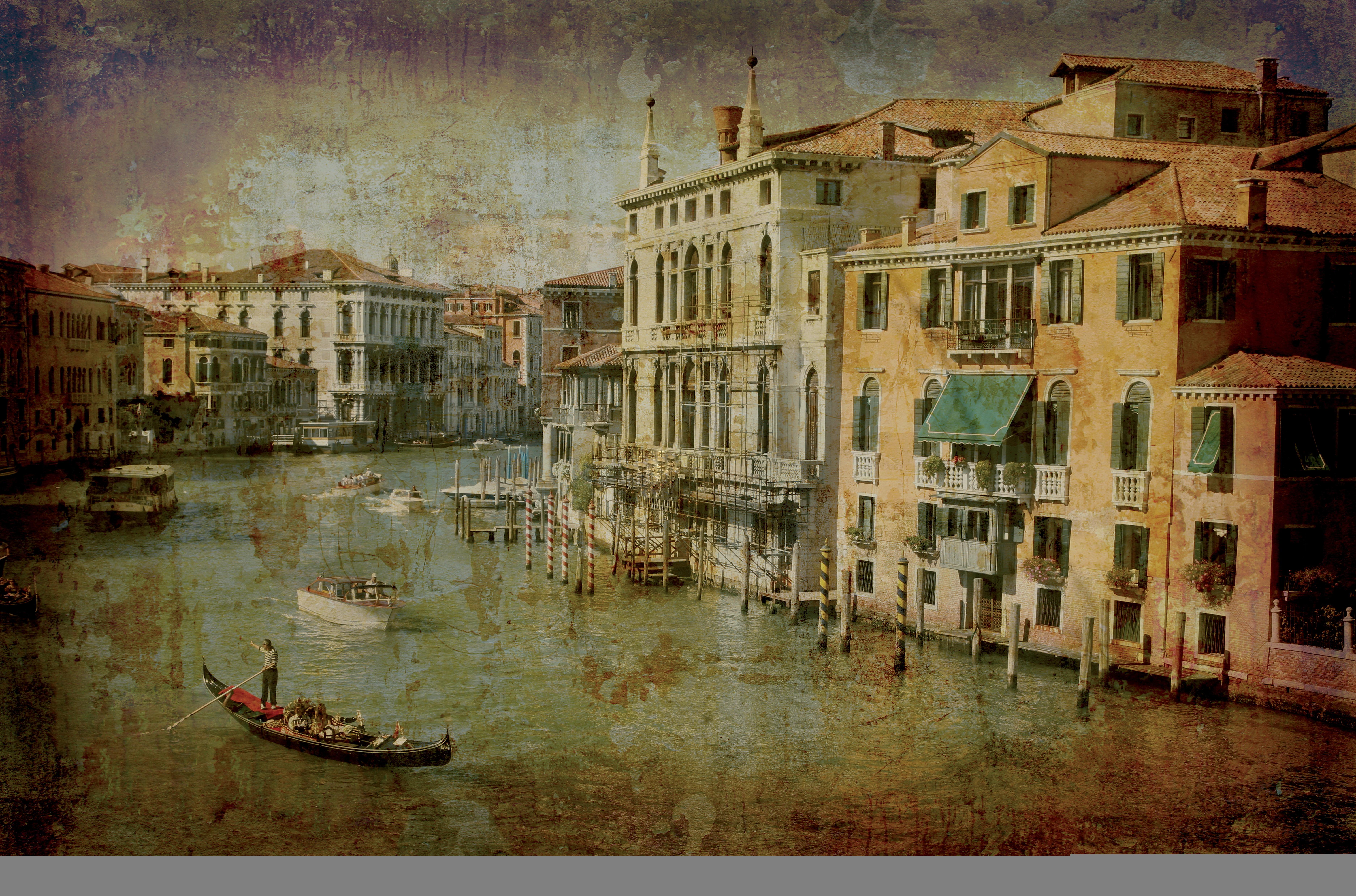 Бракосочетанием, открытка с италией