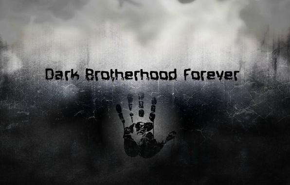 Photo Wallpaper Smoke Skyrim Dark Brotherhood