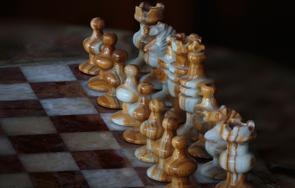Picture the game, chess, Board, art, figure
