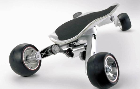 Photo wallpaper Skateboard, StreetCarver, BMW