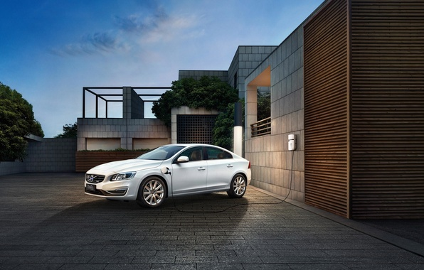 Picture Volvo, Volvo, S60, electric car