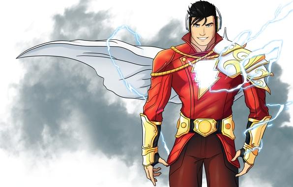Photo Wallpaper Dc Comics Billy Batson Fiction Art Shazam Superhero