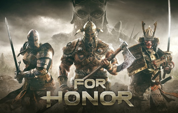 Photo wallpaper Ubisoft Montreal, For the honor, Game, For Honor