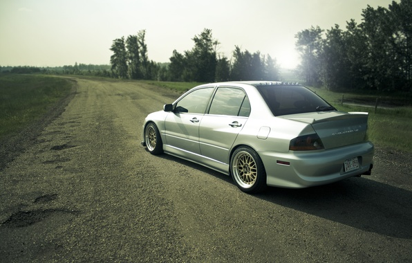 Picture drives, cars, auto, tuning, evolution, evo 8, mitsubishi lancer, sportcars, tuning cars, casting, BBS