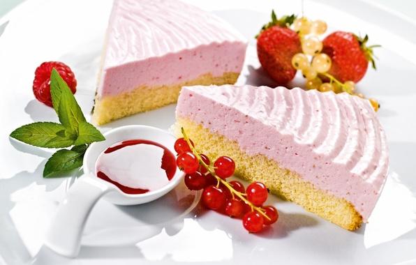 Picture raspberry, food, strawberry, cake, cake, cake, mint, cream, dessert, food, sweet, strawberry, dessert, raspberry, cheesecake, …