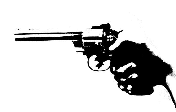 Picture style, gun, background, hand
