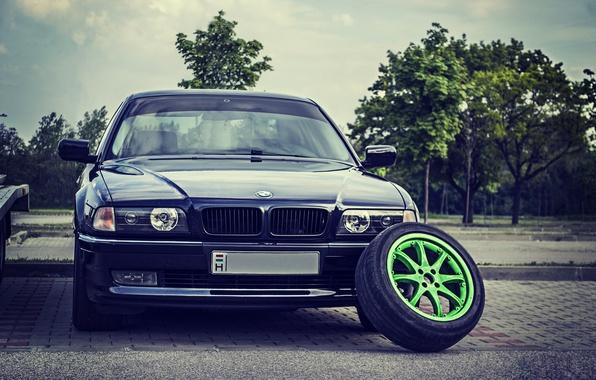 Picture BMW, Boomer, Classic, Lights, E38, Bimmer