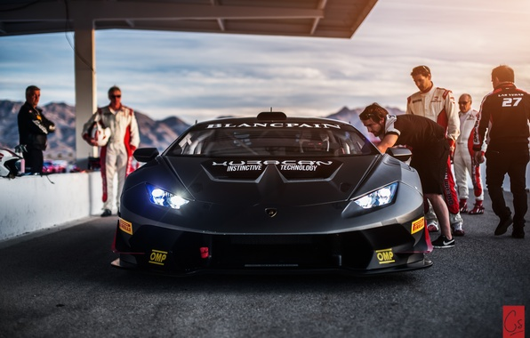 Picture people, Lamborghini, Las Vegas, track, Super Trophy, Huracan, LP-620-2