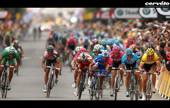 Picture bike, victory, race, competition
