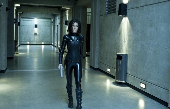 Picture actress, brunette, Kate Beckinsale, Underworld: Awakening, Another world 4: Awakening, Revenge woke up
