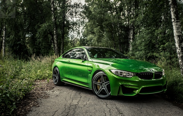 Photo wallpaper new, bestbmw, m4new, f82, bmwm4, bmw, BMW, auto, green, green