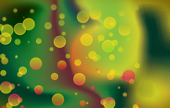 Picture color, abstraction, bubbles, background, Wallpaper, bright, graphics, picture