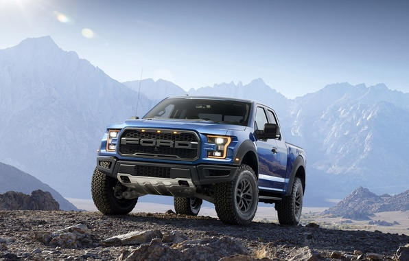 Picture mountains, Ford, Ford, Raptor, Pickup, Raptor, F-150, ancestor