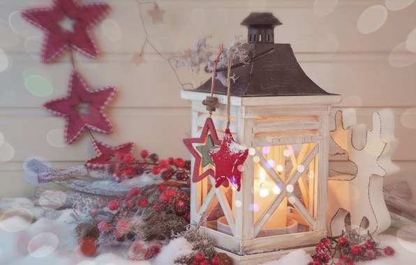 Picture stars, snow, lights, lights, cherry, candle, lantern, star, new year, snow, merry christmas, cherry, candle, …