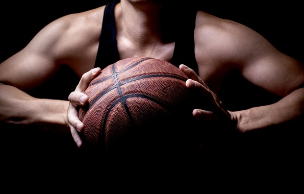 Picture basketball, woman, ball