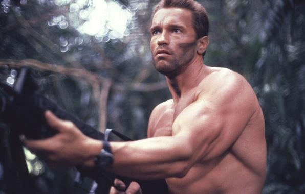 Picture man, Predator, Predator, Arnold Schwarzenegger, Arnold Schwarzenegger