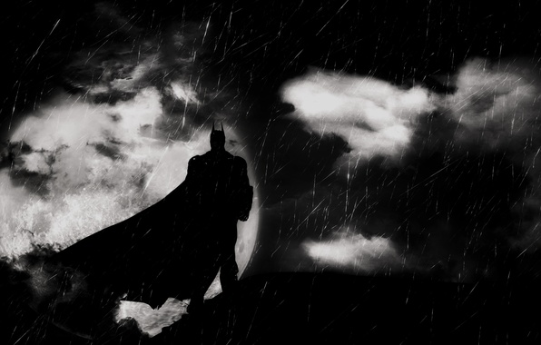 Picture background, Batman, Batman, Arkham Knight