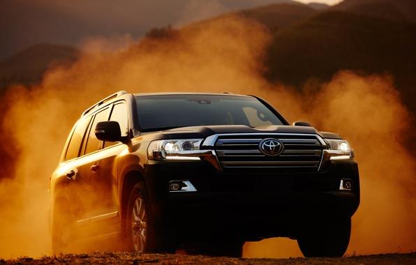 Picture car, SUV, Toyota, 200, Land Cruiser