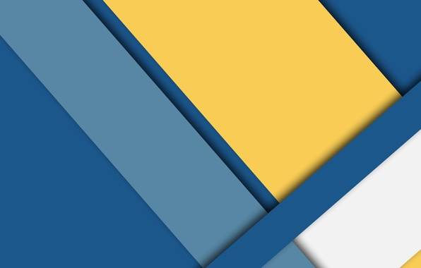 Picture white, line, blue, yellow, blue, wallpaper, geometry, color, material, desing