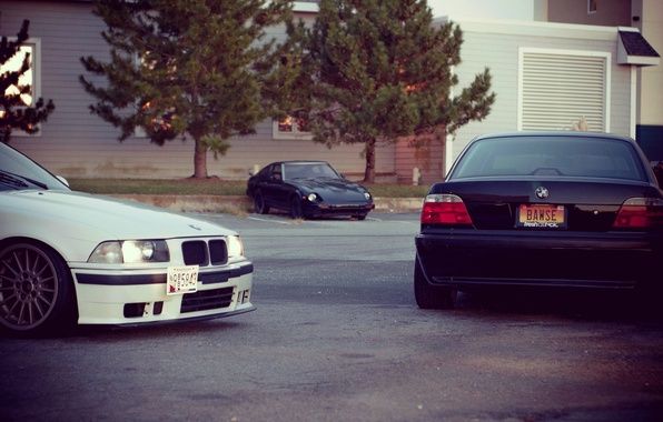 Picture tuning, bmw, BMW, stance, E36, E38
