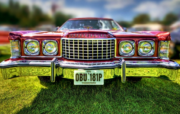 Picture Ford, Ford, Thunderbird, Tendered, the front.classic