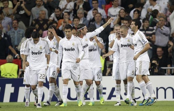 Picture football, adidas, real Madrid, nike, Real Madrid, Real, Ronaldo, Pepe, Madrid, Marcelo, Mary, Ozil, Alonso