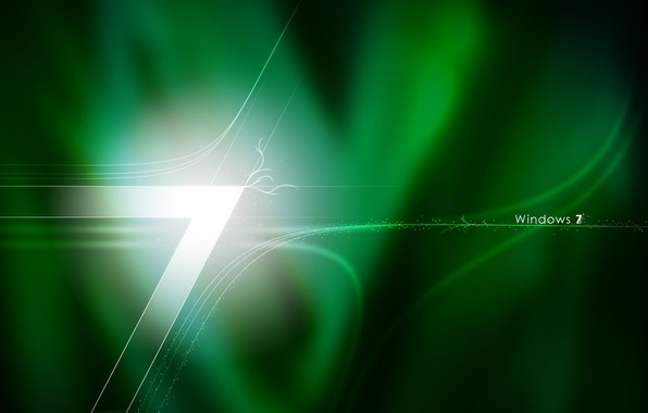 Picture texture, logo, the number, windows7