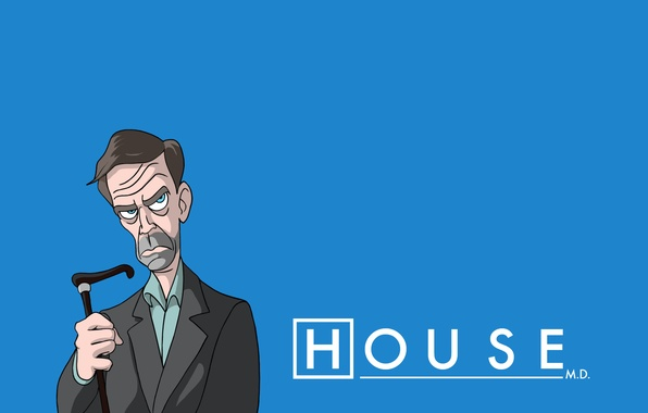 Picture Hugh Laurie, House, Dr. House