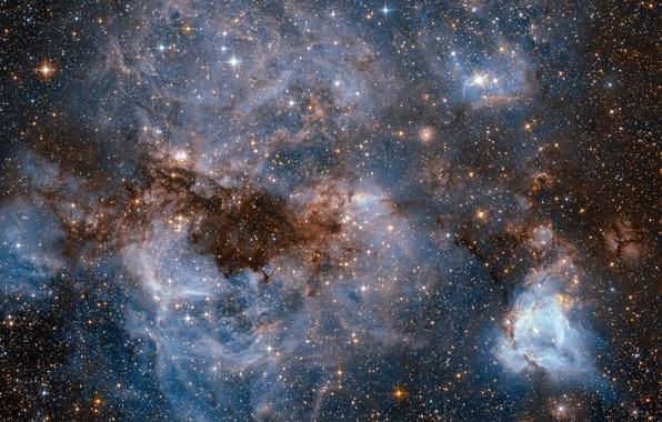 Picture space, stars, nebula, hubble