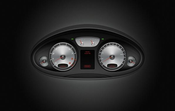 Picture machine, Audi, the instrument panel