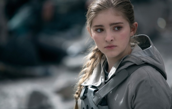 Picture Primrose Everdeen, Willow Shields, The Hunger Games:Mockingjay, The hunger games:mockingjay