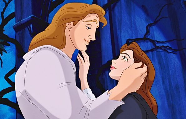 Wallpaper Beauty and The Beast Prince Adam Belle images for