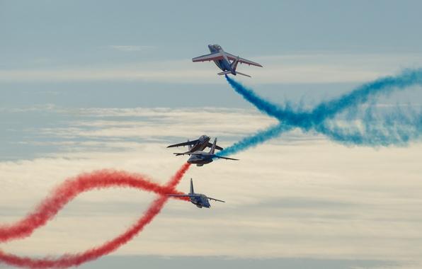 Picture aviation, the plane, holiday, aerobatics