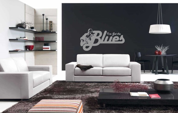Picture style, modern, home, sofa, furniture, living, interior design, apartment, contemorary, i've got the blues