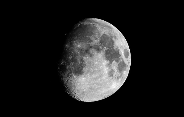 Picture satellite, The moon, Space