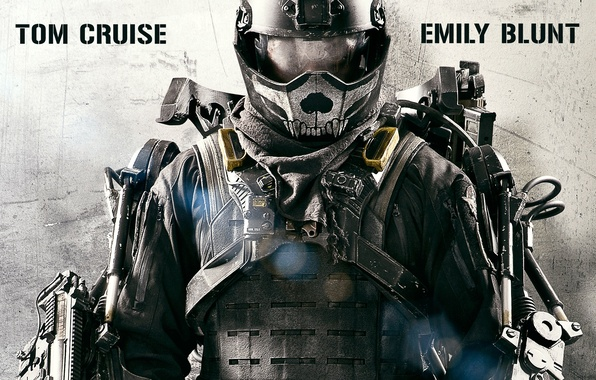Picture action, Fiction, Emily Blunt, Tom Cruise, Edge of Tomorrow, Edge of tomorrow
