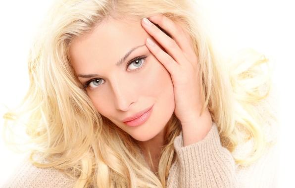 Picture eyes, look, girl, face, model, hair, portrait, blonde, beauty, singer, celebrity, Tatyana Kotova