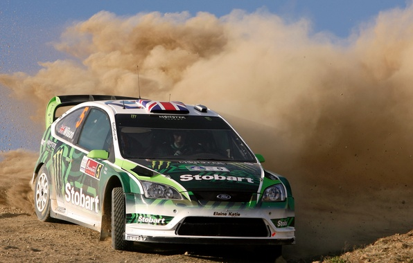 Picture Ford, Auto, Dust, Sport, Machine, Turn, Race, The hood, Skid, Focus, WRC, Rally, Rally, Championship, …