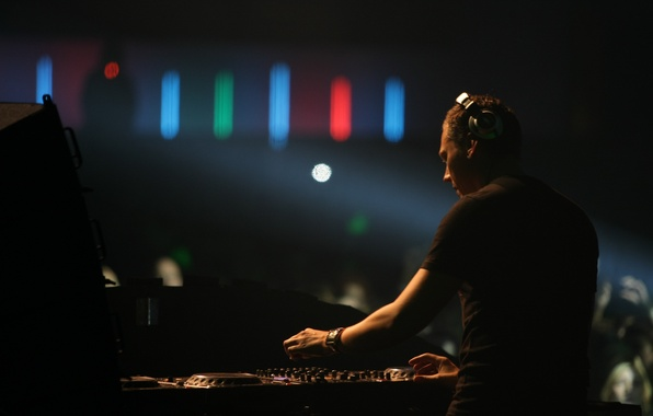 Picture Lights, Music, Headphones, Tiesto, Tiesto, DJ, Club, Night