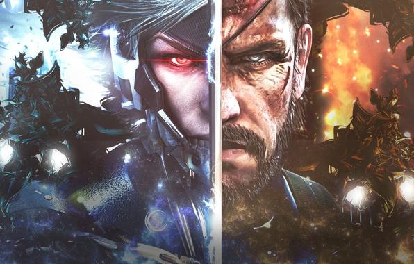 Picture metal gear solid, Snake, raiden, Metal Gear Rising: Revengeance, Naked Snake, Big Boss, Metal Gear …