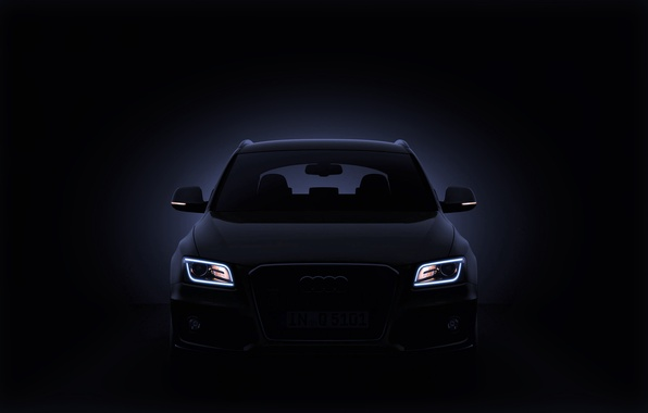 Picture Audi, Auto, Audi, Lights, SUV, The front