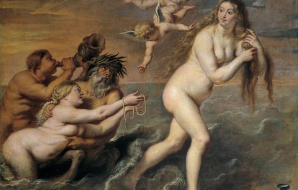Picture picture, The Birth Of Venus, mythology, Cornelis de Vos
