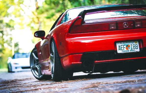 Picture red, honda, tuning, nsx, Acura, s2000