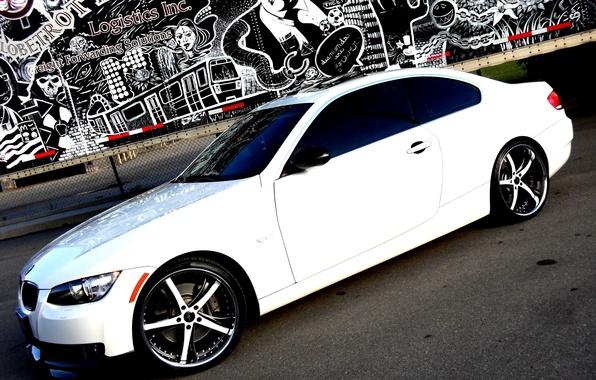 Picture Auto, BMW, Tuning, Graffiti, Machine, Graffiti