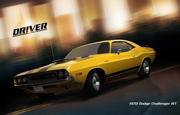 Picture car, San Francisco, Driver: San Francisco, 1970 dodge challenger
