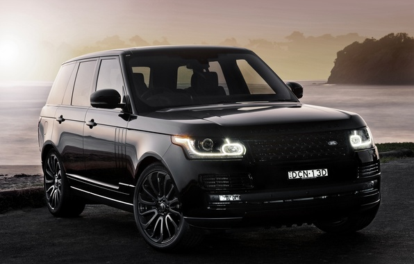 Photo wallpaper Vogue, land Rover, range Rover, Land Rover, Range Rover, VOG