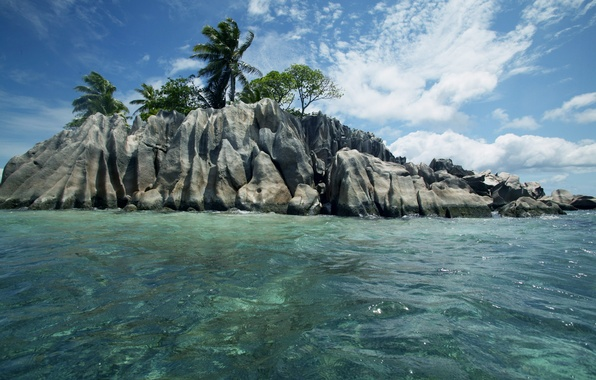 Picture nature, the ocean, stay, relax, Seychelles, exotic, islands Seychelles