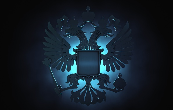 Picture eagle, Russia, coat of arms
