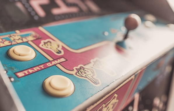 Picture style, old, game, retro, old, the controls, slot machine, oldschool, start, old school