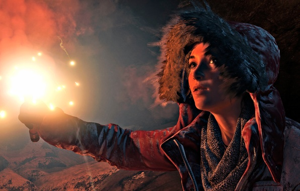 Picture girl, the game, Square Enix, Xbox One, Rise of the Tomb Raider
